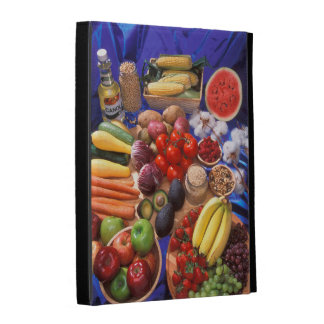 Fruits and vegetables iPad cases