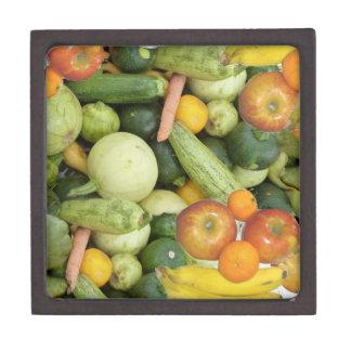 Fruits and Vegetables Keepsake Box