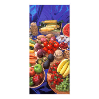 Fruits and vegetables rack card