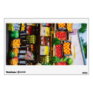 Fruits and vegetables room graphics
