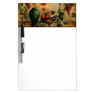 Fruits and Wine with Autumn Hues Dry-Erase Board