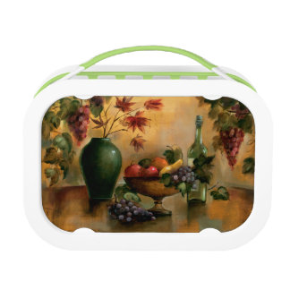 Fruits and Wine with Autumn Hues Lunch Boxes