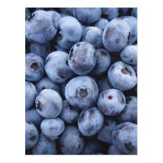 Fruits Blueberries snack fruit berries berry Postcard