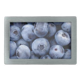 Fruits Blueberries snack fruit berries berry Rectangular Belt Buckle
