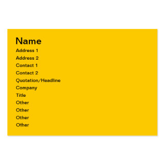Fruits Large Business Cards (Pack Of 100)