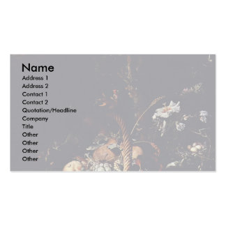 Fruits By Mignon Abraham Double-Sided Standard Business Cards (Pack Of 100)