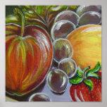 Fruits canvas printed print