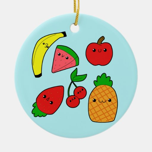 Fruits Ceramic Ornament