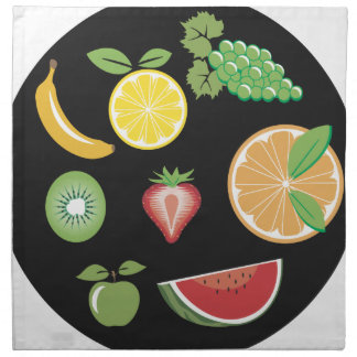 Fruits Collection Cloth Napkin