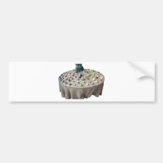 Fruits collection on the table bumper sticker