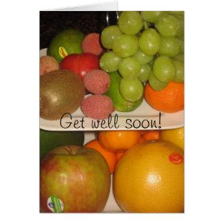 Fruits Greeting Card