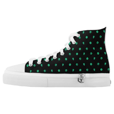 Beach Themed Fruits High Tops Shoes