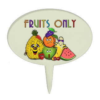 fruits home decors cake topper