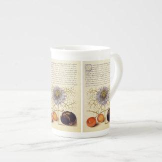 Fruits, insects, flowers, antique Jaris Hoefnagel Tea Cup