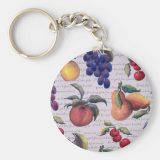 fruits keychain