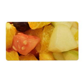 Fruits Custom Shipping Label