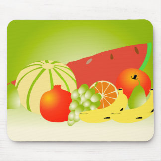 fruits mouse pad