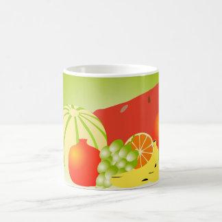 fruits classic white coffee mug