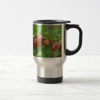 Fruits of a gooseberry travel mug