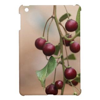 Fruits of a shiny leaf buckthorn iPad mini covers