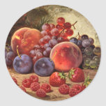 Fruits of Summer Round Stickers