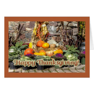 Fruits Of The Autumn Harvest Card