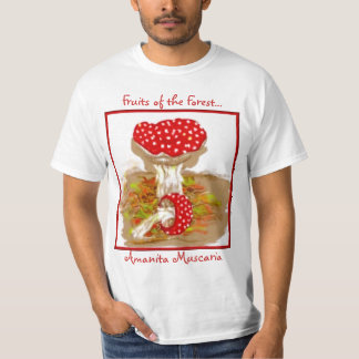 Fruits of the Forest  Amanita Muscaria T-Shirt