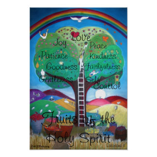 Fruits of the Holy Spirit Poster