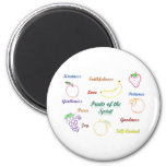 Fruits of the Spirit 2 Inch Round Magnet