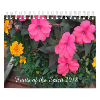 Fruits of the spirit calendar