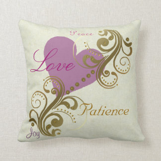 Fruits of The Spirit Christian Pillow