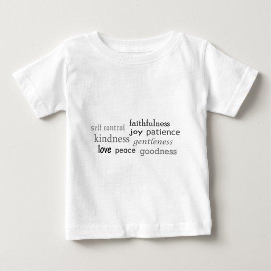 Fruits of the Spirit, Galatians 5:22-23 Baby T-Shirt