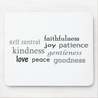 Fruits of the Spirit, Galatians 5:22-23 Mouse Pad