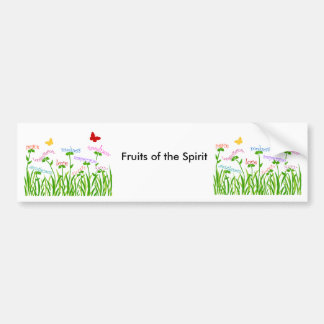 Fruits of the Spirit garden products Bumper Sticker