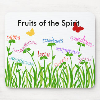 Fruits of the Spirit garden products Mouse Pad