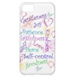 Fruits of the Spirit iPhone Cover iPhone 5C Cover