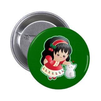 Fruits of the Spirit: Kindness Pinback Button