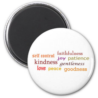 Fruits of the Spirit Refrigerator Magnets