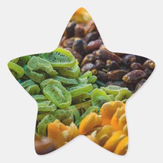 Fruits on a bazaar in Istanbul (Turkey) Star Sticker