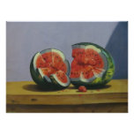 fruits on the table print