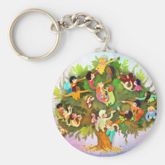 Fruits One Tree Key Chains