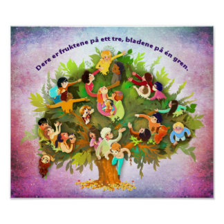 Fruits One Tree (Norwegian) Poster