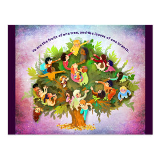 Fruits One Tree Postcard