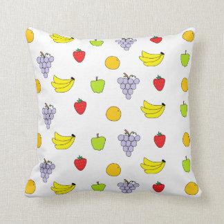Fruits Pattern Throw Pillows