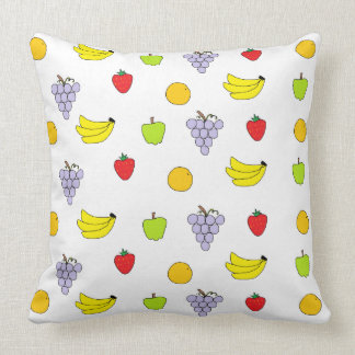 Fruits Pattern Pillow
