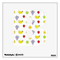 Fruits Pattern Wall Decal
