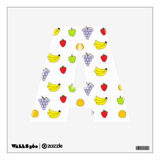 Fruits Pattern Wall Sticker