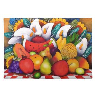 Fruits Cloth Place Mat