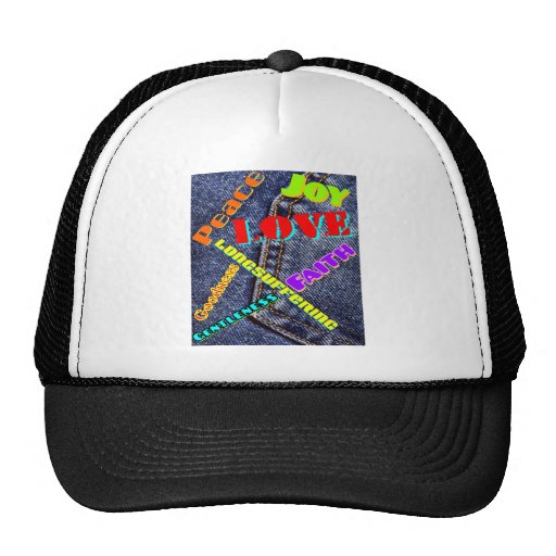 Fruits Spirit writing color Trucker Hat