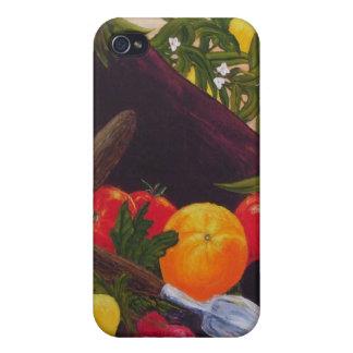 Fruits & Vegetables Medley iPhone 4 Case